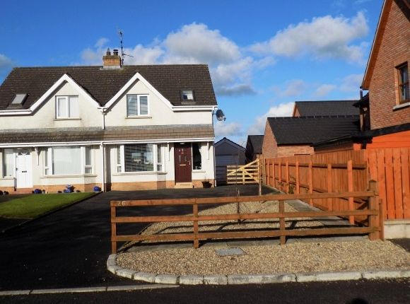 Thumbnail Semi-detached house to rent in 26A Lurganure Road, Maze, Lisburn