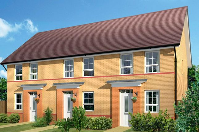 "Thumbnail Semi-detached house for sale in ""Ashford"" at Akron Drive, Wolverhampton"
