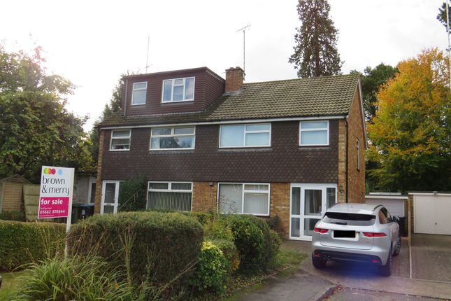 Thumbnail Semi-detached house for sale in Lochnell Road, Northchurch, Berkhamsted