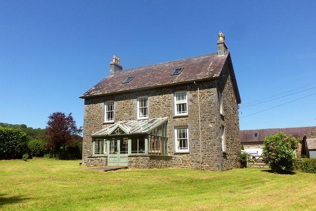 Thumbnail Detached house for sale in Ffynnonddrain, Carmarthen, Carmarthenshire.