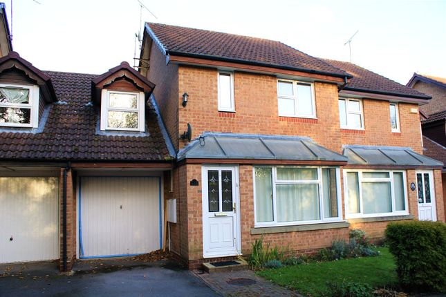 Thumbnail Semi-detached house to rent in Mannock Way, Woodley, Reading, Berkshire