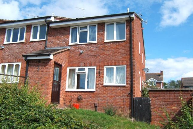 Thumbnail End terrace house to rent in Stoke Valley Road, Pennsylvania, Exeter, Devon