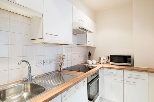 Kitchen of Nottingham Place, London W1U