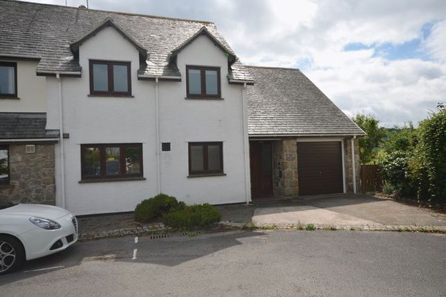 Thumbnail Semi-detached house for sale in The Acre, Chagford, Newton Abbot