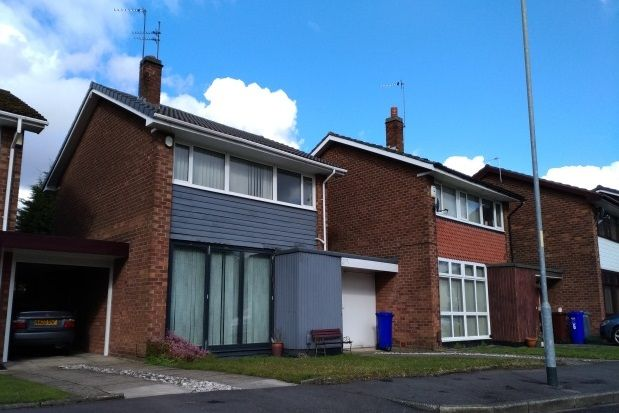 Thumbnail Link-detached house to rent in Peveril Crescent, Chorlton Cum Hardy, Manchester