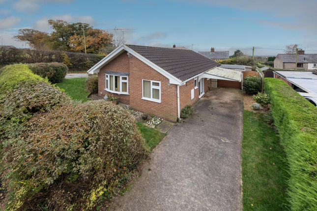 Thumbnail Detached bungalow for sale in North Brook Road, Utkinton, Tarporley