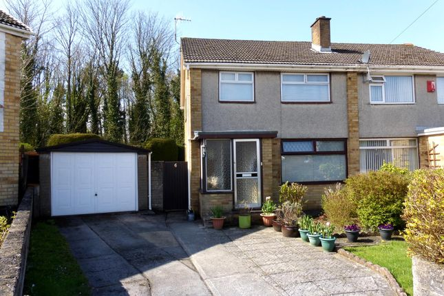 Thumbnail Semi-detached house for sale in Pen-Yr-Heol, North Cornelly, Bridgend