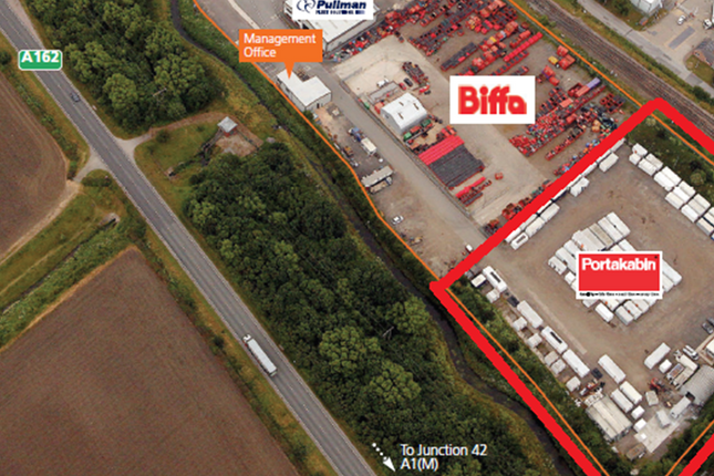 Thumbnail Land to let in By-Pass Park Estate, Sherburn In Elmet