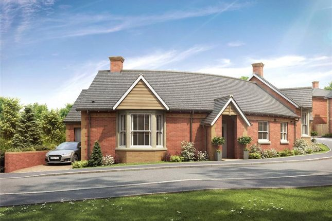 Thumbnail Terraced bungalow for sale in Valley Park, Flora Close, Exmouth, Devon