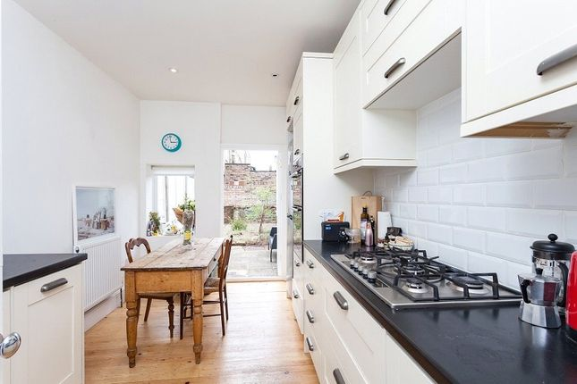 Thumbnail End terrace house for sale in Mulkern Road, London