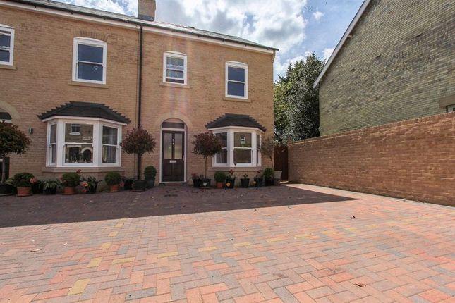 Thumbnail End terrace house for sale in White Hart Lane, Soham, Ely