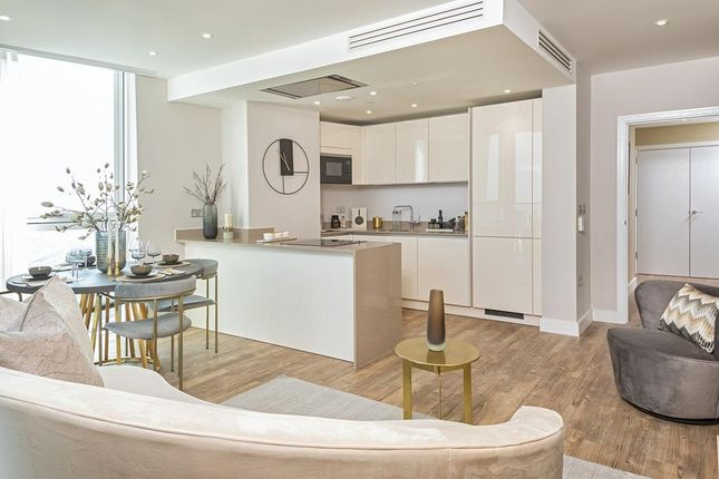 """Kitchen of """"Waterford Point"""" at Wandsworth Road, London SW8"""