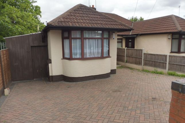 Thumbnail Bungalow to rent in Lilleshall Road, Birmingham