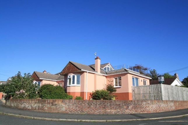 Thumbnail Detached house for sale in Valley Drive, Wembury, Plymouth