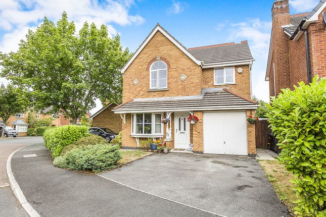 Thumbnail Detached house for sale in Charnock Moss, Lostock Hall, Preston