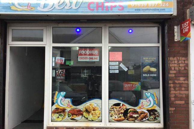 Thumbnail Restaurant/cafe for sale in Parry Road, Port Talbot