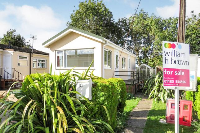 1 bed mobile/park home for sale in Station Road, Heacham, King's Lynn PE31