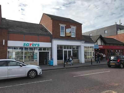 Retail premises to let in 33-35 High Street, Cheadle