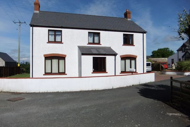 Thumbnail Detached house for sale in Golwg Y Mor, Square And Compass, Haverfordwest