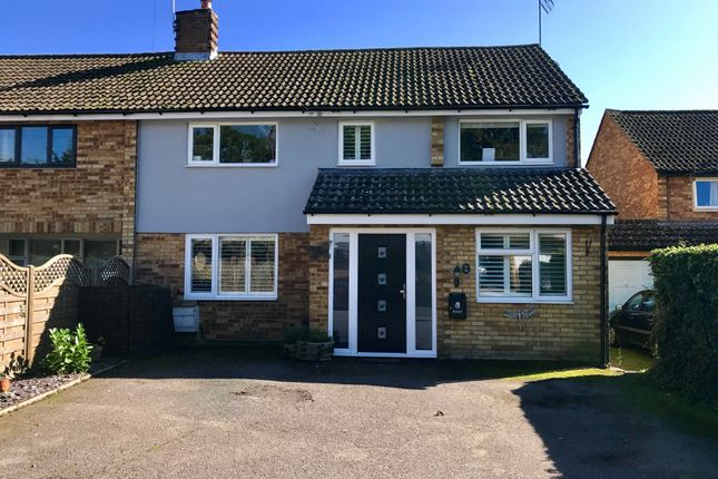 Thumbnail Semi-detached house for sale in Blythwood Gardens, Stansted