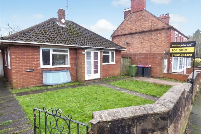 Thumbnail Detached bungalow for sale in Hollyhurst Road, Telford, Telford, Shropshire