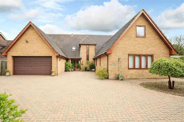 Thumbnail Detached house for sale in Spaldwick Road, Stow Longa, Huntingdon, Cambridgeshire