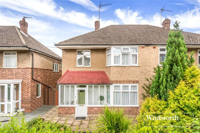 Thumbnail Semi-detached house for sale in Friary Close, North Finchley, London