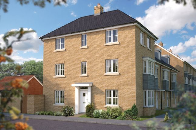 "Thumbnail Detached house for sale in ""The Ashurst"" at Cutforth Way, Romsey"