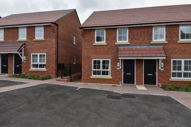 Thumbnail Terraced house for sale in Ivyleaf Close, Redditch