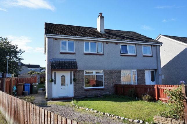 Thumbnail Semi-detached house for sale in Drumossie Avenue, Inverness