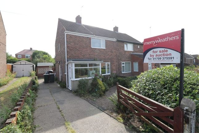 2 bed semi-detached house for sale in Hunger Hill Road, Whiston, Rotherham, South Yorkshire