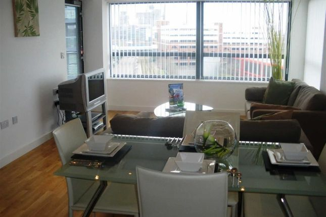 Thumbnail Flat to rent in Millenium Point, The Quays, Salford Quays, Salford Quays, Greater Manchester