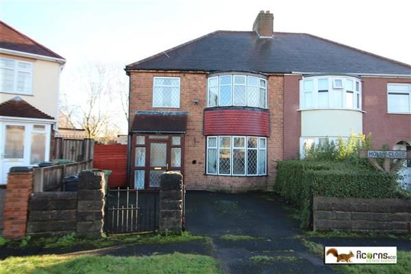Thumbnail Semi-detached house for sale in Holly Close, Willenhall