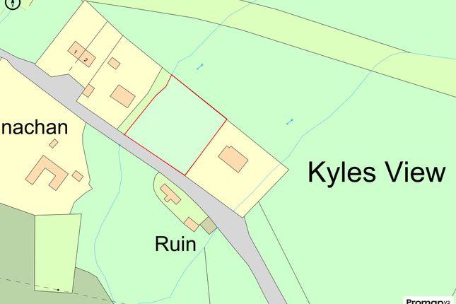 Floorplan of Stronafian Building Plot, Glendaruel, Colintraive, Argyll And Bute PA22