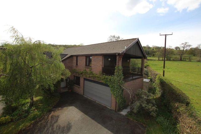 Thumbnail Detached house for sale in Dan Y Wern, Pwllgloyw, Brecon