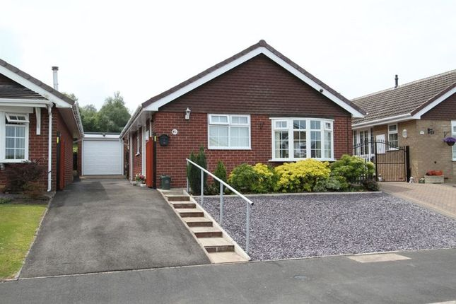 Thumbnail Detached bungalow for sale in Hulme Close, Silverdale, Newcastle-Under-Lyme