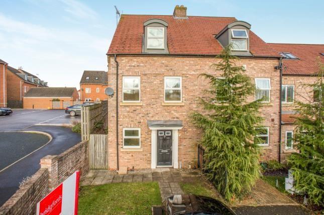 Thumbnail Terraced house for sale in Angel Garden, Knaresborough, North Yorkshire, .