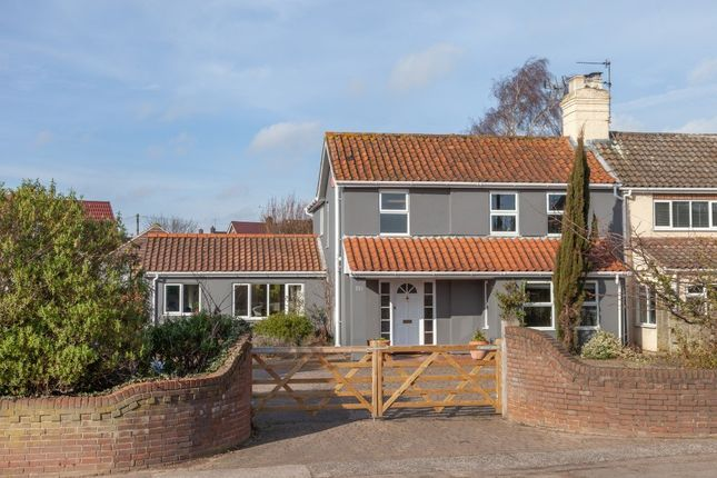 Thumbnail Semi-detached house for sale in Wroxham Road, Sprowston, Norwich