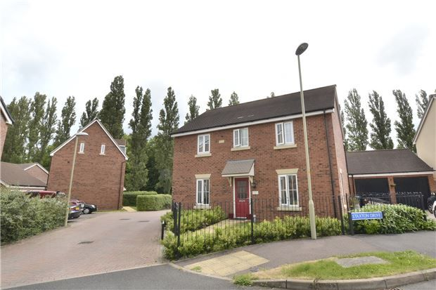 Thumbnail Detached house for sale in Fenton Way Kingsway, Quedgeley, Gloucester