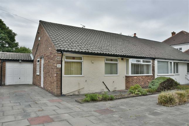 Thumbnail Semi-detached bungalow to rent in Greenland Road, Farnworth, Bolton