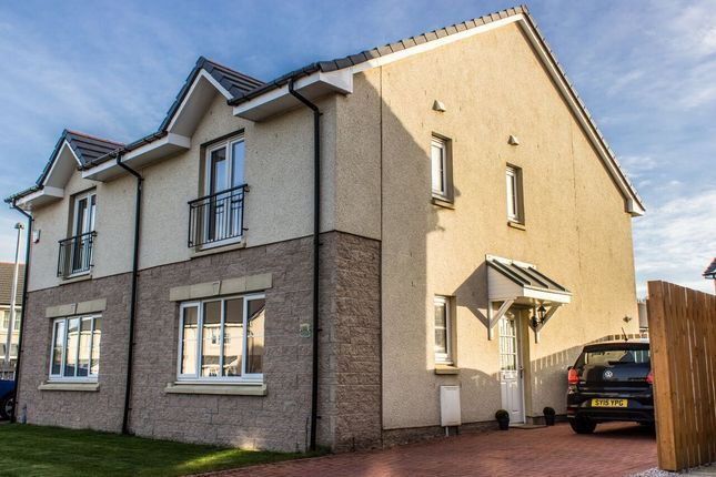 Thumbnail Semi-detached house for sale in Balquharn Circle, Portlethen, Aberdeen