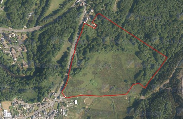 Land for sale in Brecon Road, Ystradgynlais