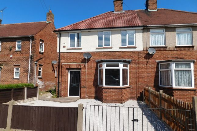 Thumbnail Semi-detached house to rent in Brown Avenue, Mansfield Woodhouse, Mansfield