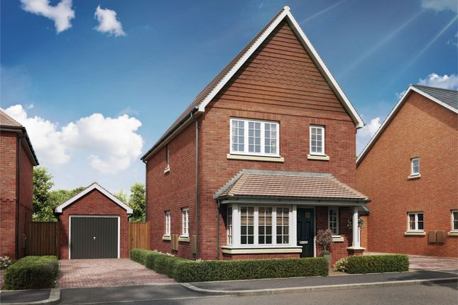 Thumbnail Semi-detached house for sale in Badshot Lea, Farnham, Surrey