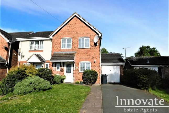 Thumbnail Semi-detached house to rent in Huntingdon Road, West Bromwich