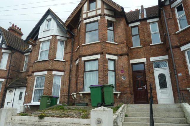 Thumbnail Terraced house to rent in Bradstone Avenue, Folkestone