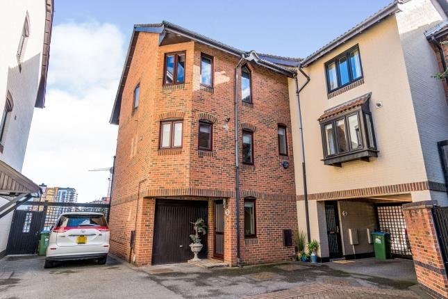 Thumbnail End terrace house for sale in Channel Way, Southampton, Hampshire