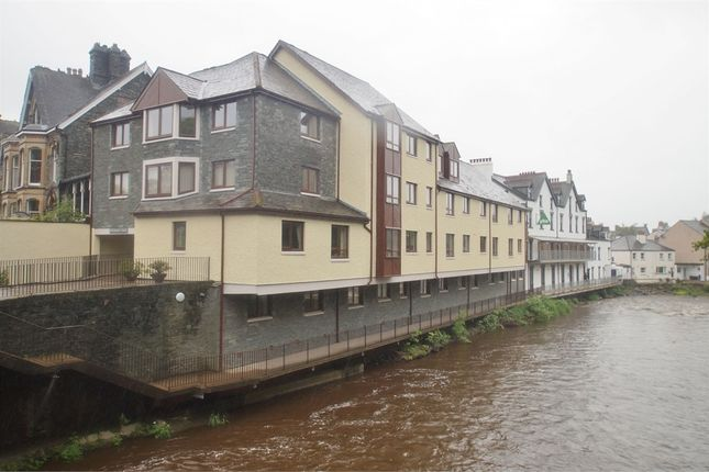 Thumbnail Flat for sale in Riverside Lodge, Station Road, Keswick, Cumbria