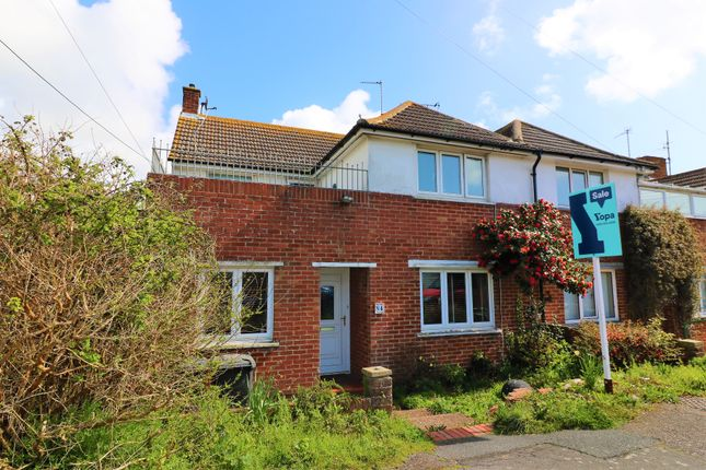 Thumbnail End terrace house for sale in Bay Road, Pevensey Bay, Pevensey