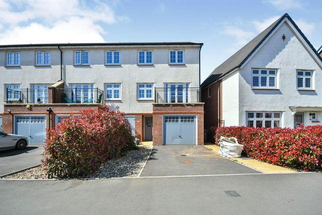 Thumbnail Semi-detached house for sale in Homington Avenue, Coate, Swindon